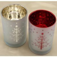 Hot Sell Candle Cup/Electroplate Glass Candlestick for Home Decoration pictures & photos