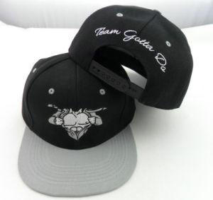 Customized Embroidery 6 Panel Snapback Hat and Cap pictures & photos