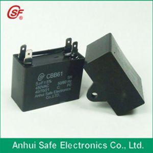 Cbb61 Ceiling Fan Capacitor (plastic case) 10UF pictures & photos