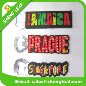 Factory Cheap Custom Design Soft PVC Rubber Bottle Opener pictures & photos