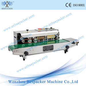 Stain Steel Continuous Industrial Plastic Sealing Machine pictures & photos