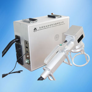 Portable Laser Marker Machine for Heavy Metal Parts pictures & photos