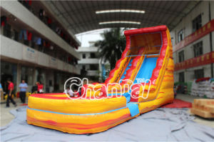 Volcano Inflatable Water Slide with Pool (CHSL511L-Volcano) pictures & photos