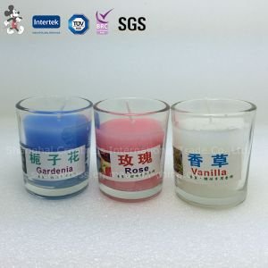Wholesale Glass Scented Wax Candle pictures & photos