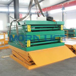 Warehouse Cargo Scissor Platform Lift pictures & photos