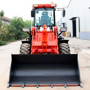 China Factory Wholesale 2 Ton Construction Machinery Big Wheel Loader pictures & photos