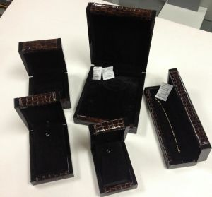 Leather and Wooden Jewelry/Watch Box pictures & photos
