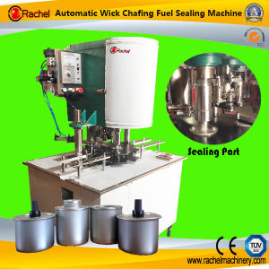 Automatic Canned Wick Safety Fuel Sealing Machine pictures & photos