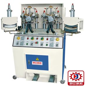 China Automatic Shoe Toe Cap Steaming Cooling Forming Machine pictures & photos