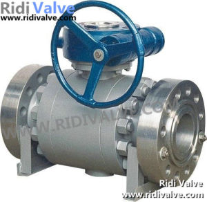 API 6D 3PC Forged Steel Trunnion Mounted Ball Valve (3-PC Body)