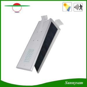 Solar LED Street Light All in One, with Motion Sensor and Bluetooth Control pictures & photos