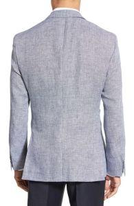 Wholesale OEM Latest Fashion Design Men′s Linen Suit Blazer pictures & photos