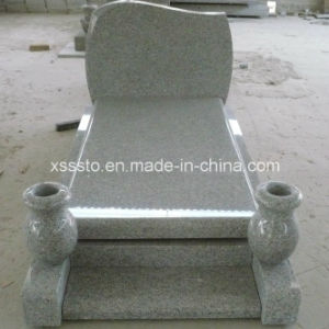 Natural G603 Granite Tombstone and Monument pictures & photos