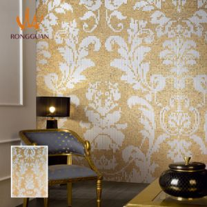 Gloden Pattern Mosaic for Wall Decoration (10K232) pictures & photos