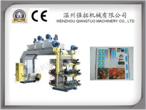 High Precision 6 Colors Film Flexo Printing Machine