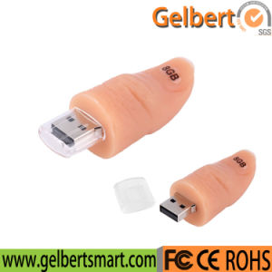 PVC Thumb USB Pen Drive Case for Promotion Gift pictures & photos
