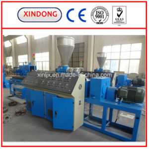 PE Single Wall Corrugated Pipe Production Line pictures & photos