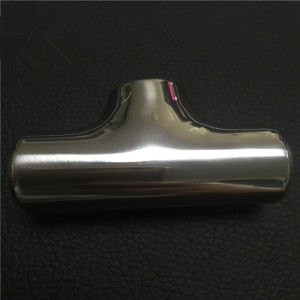 Stainless Steel Polished Machined Sanitary Tee pictures & photos