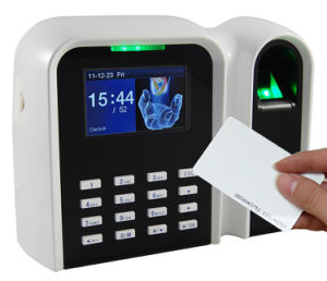 ID Card Reader and Fingerprint Time Clock Terminal (T9/ID) pictures & photos