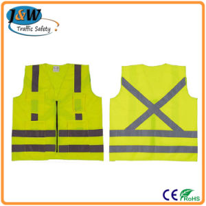 High Visibility Reflective Vest Safety Vest with CE En471 pictures & photos
