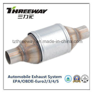 Car Exhaust System Three-Way Catalytic Converter #Twcat005 pictures & photos