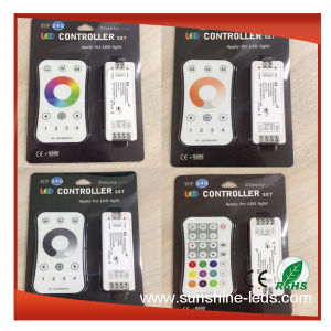 LED Controller (RGB/WiFi/DMX/RF/IR/SD Card/Touch) pictures & photos