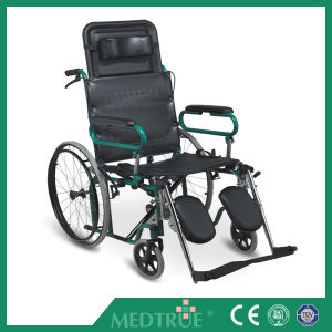 CE/ISO Approved High Quality Cheap Steel Wheel Chair (MT05030010) pictures & photos