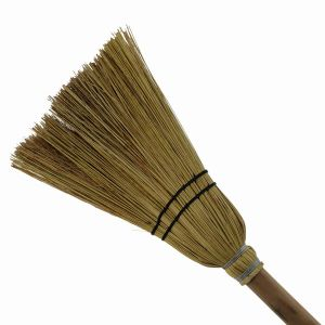 Household Corn Broom with Wood Handle pictures & photos