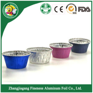 Aluminum Foil Food Container with Color pictures & photos