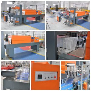 Autoamtic PE Film Heat Shrink Wrapping Machine for Pet Bottles pictures & photos