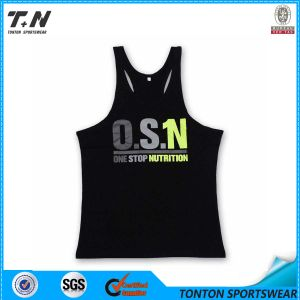 Custom Dri Fit Blank Gym Mens Stringer Singlet pictures & photos