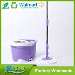 Blue Floor Cleaning Spin Mop 360 with Bucket pictures & photos