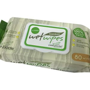 Eco-Friendly Wet Wipes 100% Biodegradable Bamboo Fiber Baby Wipes pictures & photos