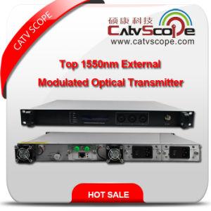 Professional Supplier High Performance CATV 1550nm Top External Modulated Optical Laser Transmitter