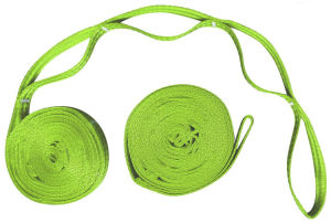 Carries Colorful Hammock Tree Straps for Camping Hiking Hammocks
