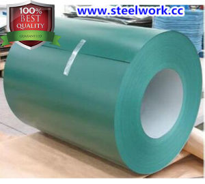 High Quality PPGI/PPGL/Gi/Gl Color Coated Steel Coil for Roller/Shutter Door (CC-09)