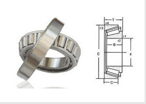 368A/362A Inch Series Single Row Taper Roller Bearing104948/10