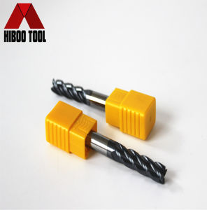 Hiboo Cheap HRC45 4z Finishing Carbide Cutting Tools pictures & photos
