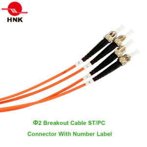 Bundle Fan-out Distribution Breakout Cable & Ruggedzied Cable Fiber Optic Pigtail pictures & photos