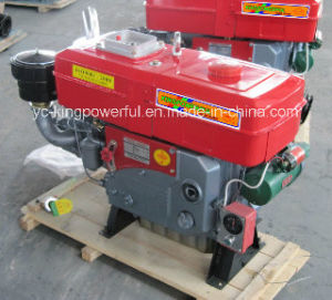 Jdde Brand Diesel Engine with Motor Start S195D pictures & photos