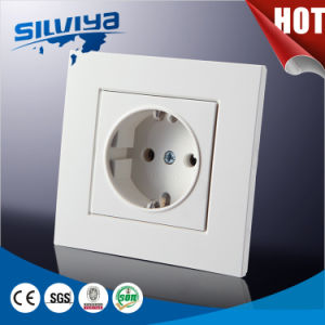 Schuko Wall Switch with Grounding pictures & photos
