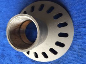 Wrought Iron Manhole Die Casting Spare Parts for Light Housing pictures & photos