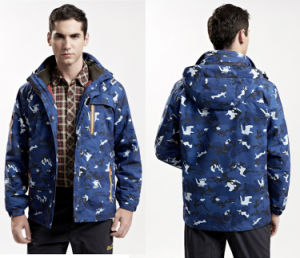 Fashionable Mens Print Mountaineering Jacket pictures & photos