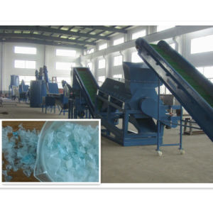 Plastic Pet Bottles Flakes Crushing, Washing and Recycling Machines Line