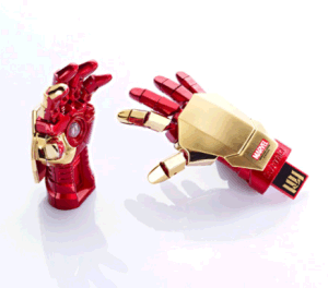 High Quality Fashion Iron Man 256GB USB Flash Drive pictures & photos