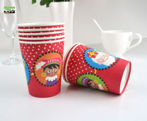 Food Grade Disposable Printed Paper Cup for Party