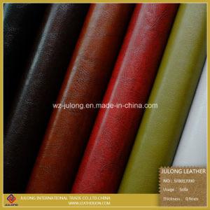 Uniqued Design Semi-PU Lether & Sofa Leather (SFB017) pictures & photos