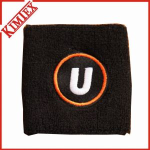 High Quality Cotton Terry Sports Promotion Wristband pictures & photos