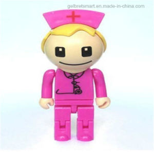 Plastic Doctors Robot Pen Drive USB Flash Drive for Gift pictures & photos