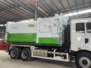 Moving Compressed Garbage Truck Body pictures & photos